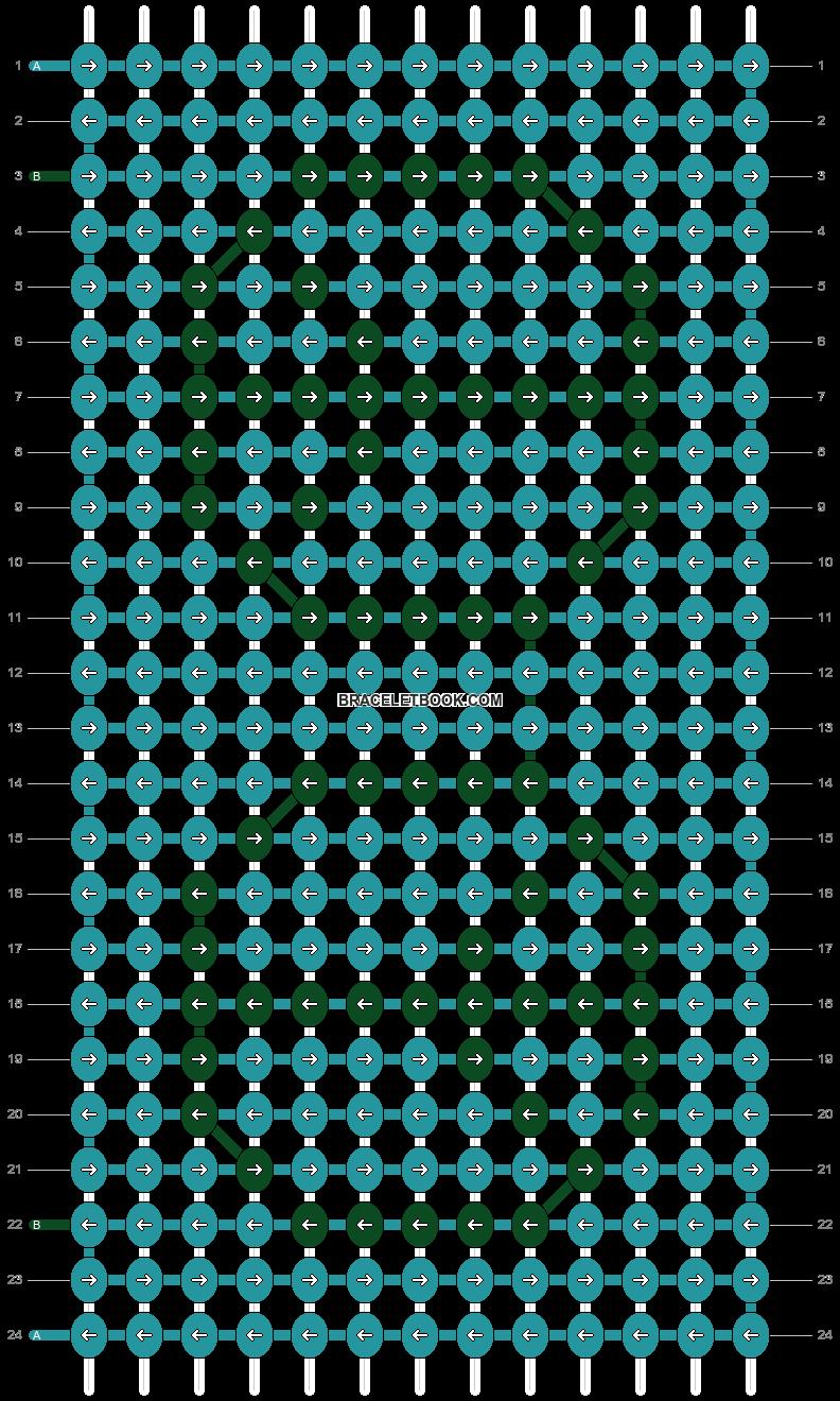 Alpha pattern #21142 pattern