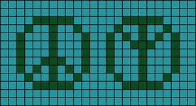 Alpha pattern #21142