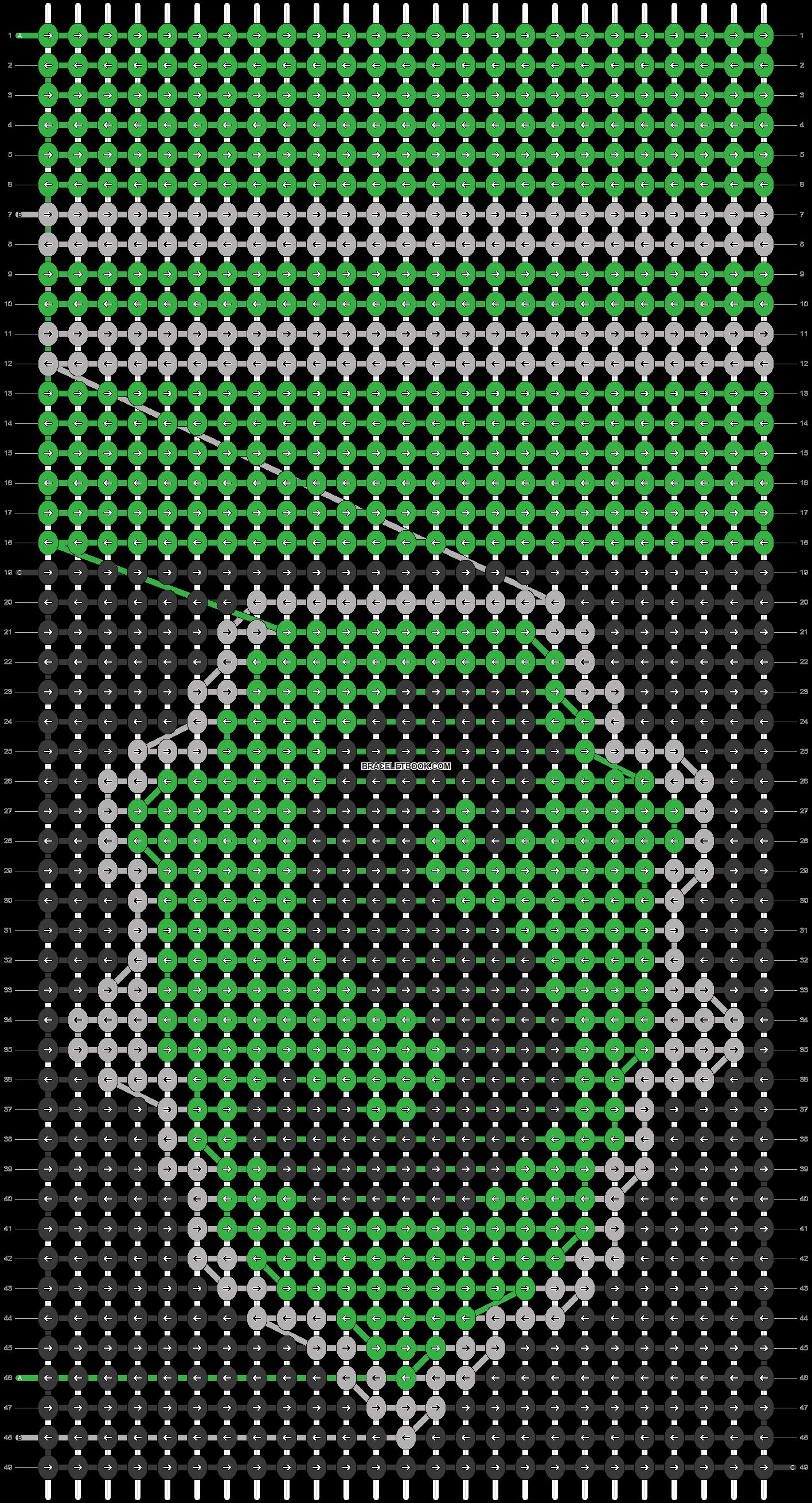 Alpha pattern #21147 pattern