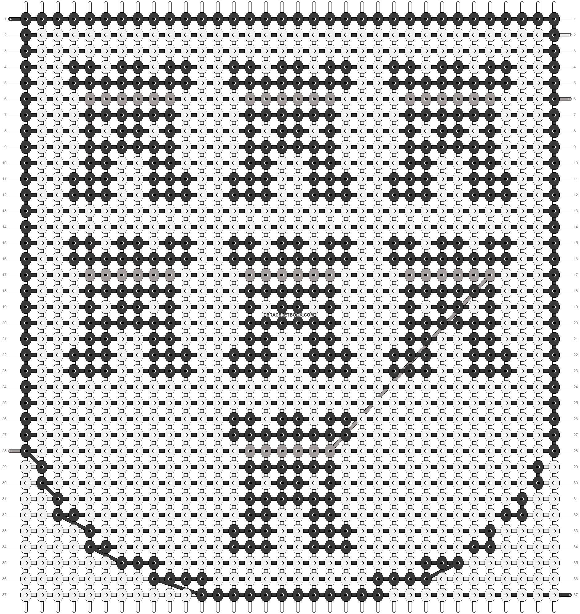 Alpha pattern #21160 pattern