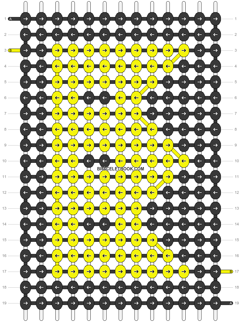 Alpha pattern #21163 pattern