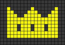 Alpha Friendship Bracelet Pattern #21163
