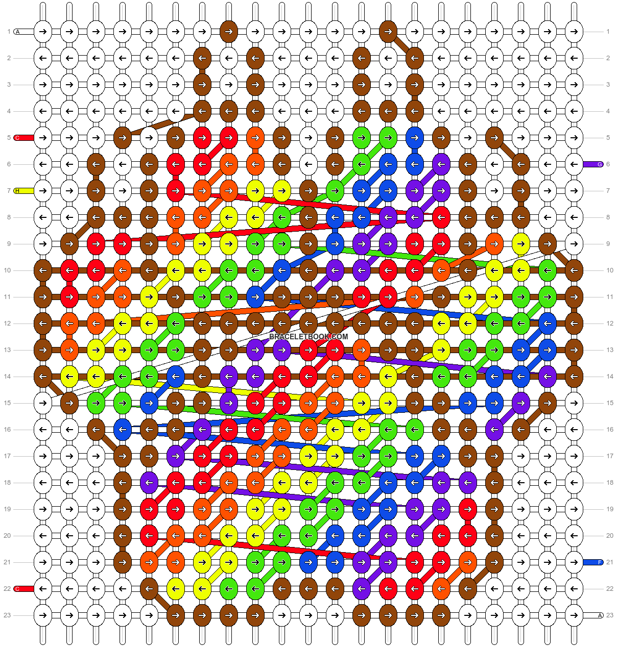 Alpha pattern #21164 pattern