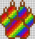Alpha Friendship Bracelet Pattern #21164