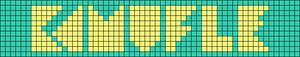 Alpha pattern #21165