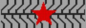 Alpha Friendship Bracelet Pattern #21168