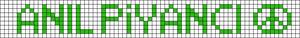 Alpha pattern #21179