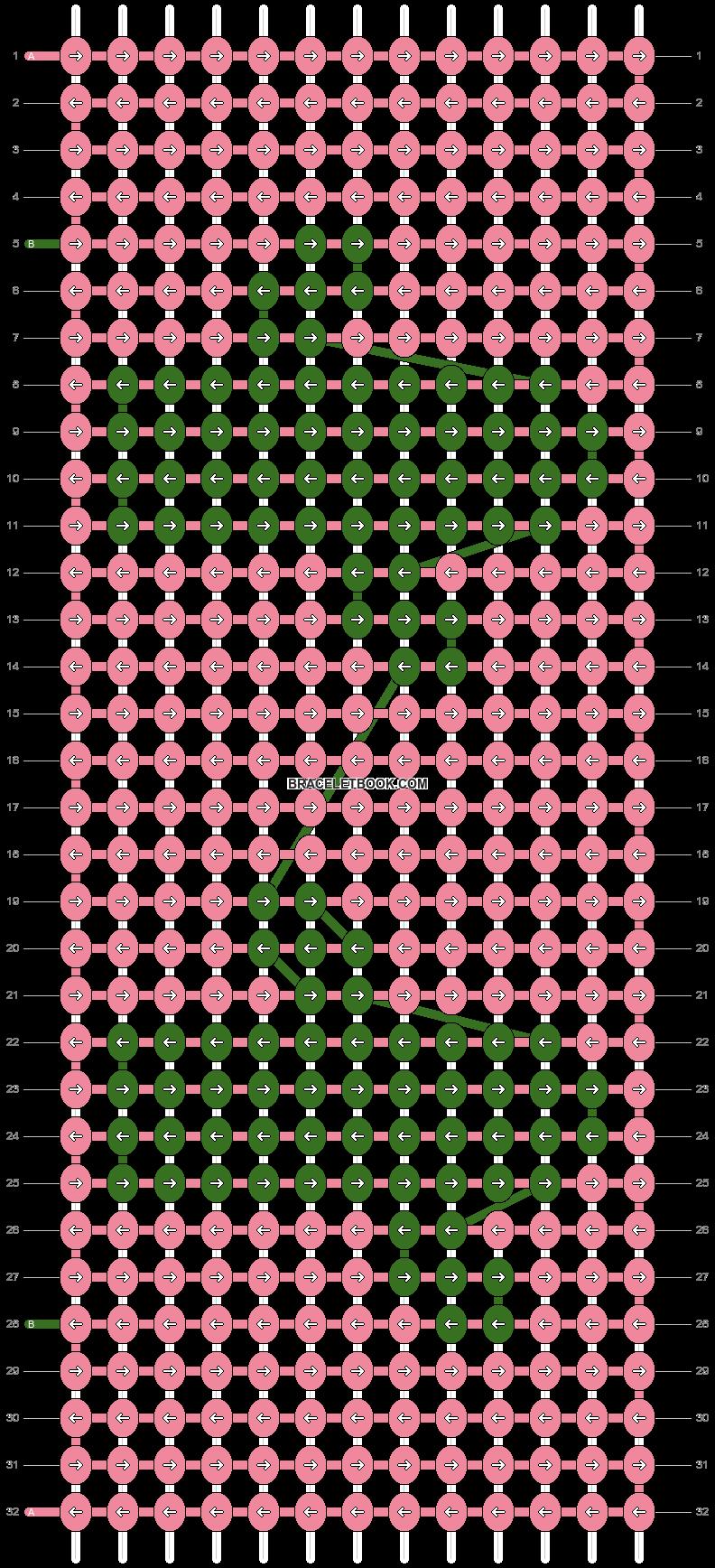 Alpha pattern #21182 pattern