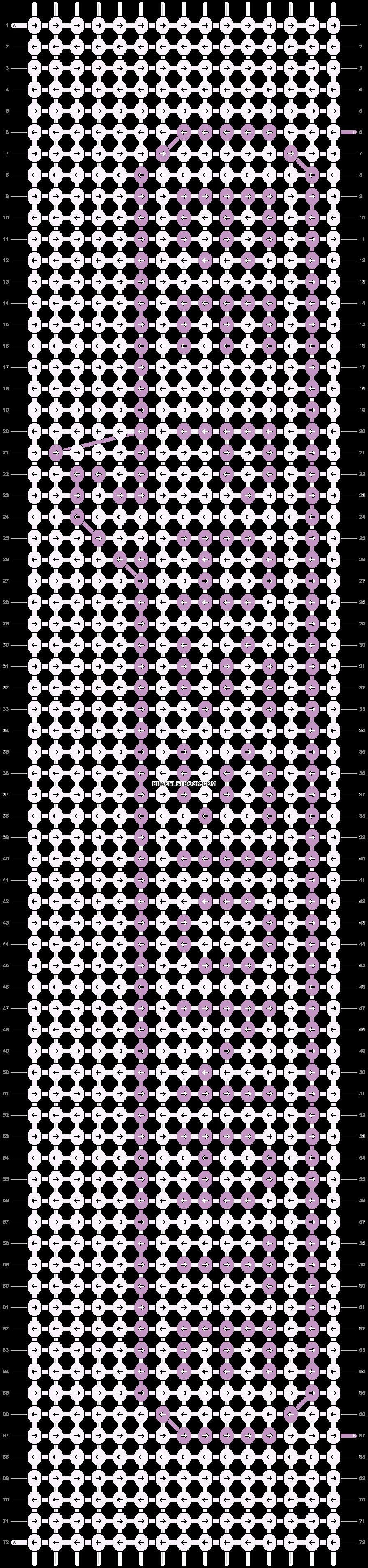 Alpha pattern #21184 pattern