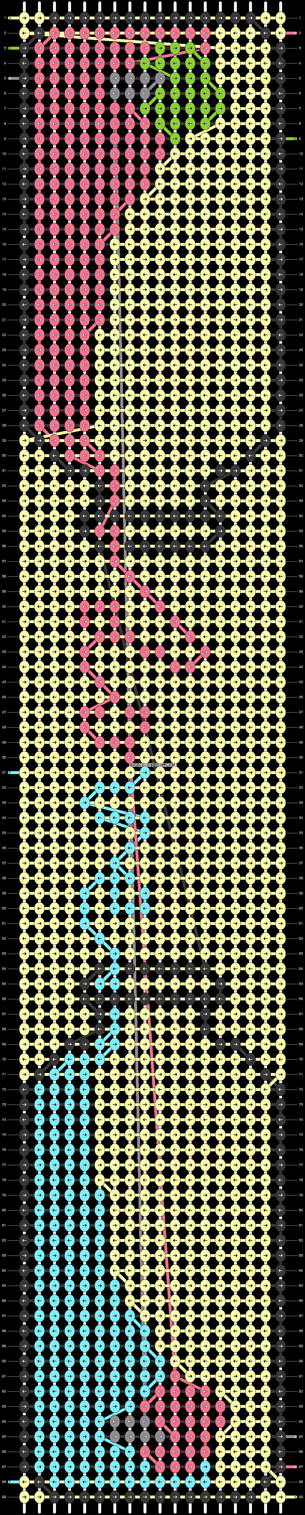 Alpha pattern #21192 pattern