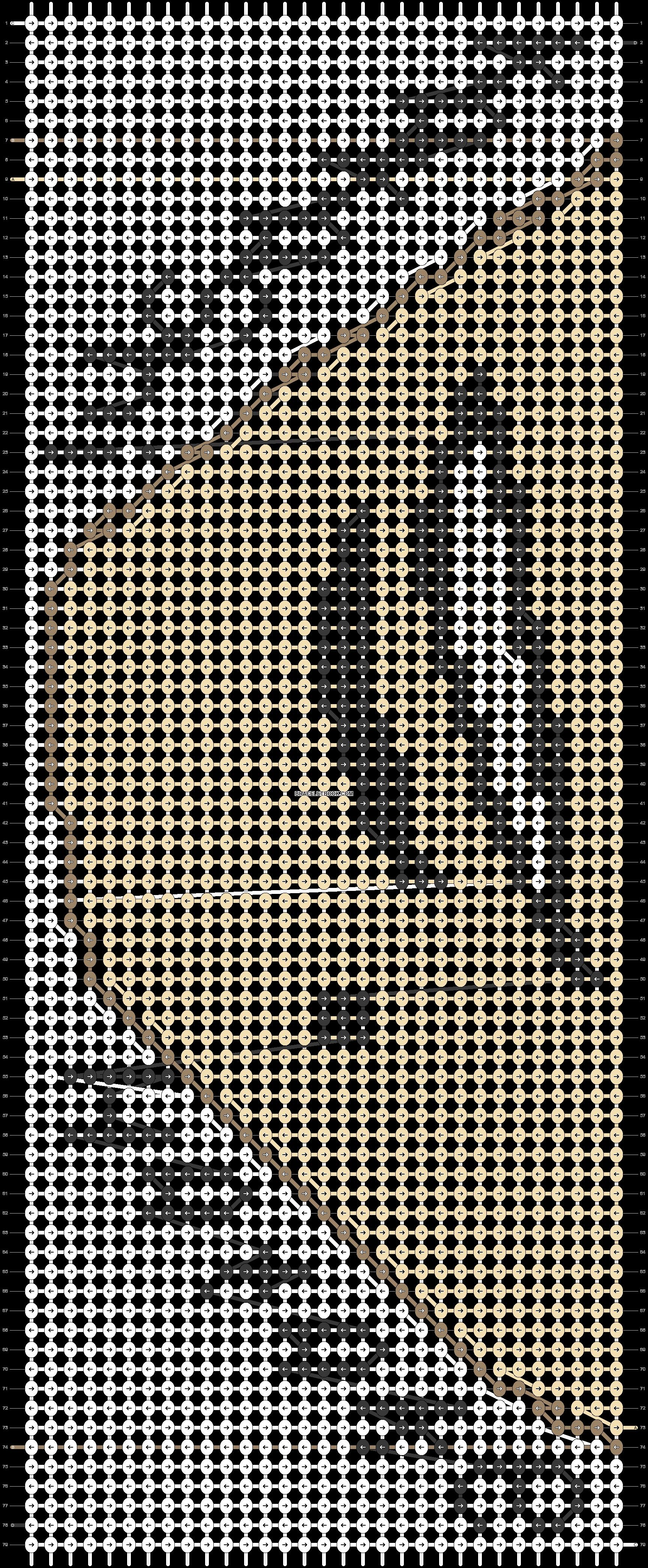 Alpha pattern #21206 pattern