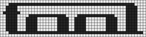 Alpha Friendship Bracelet Pattern #21211