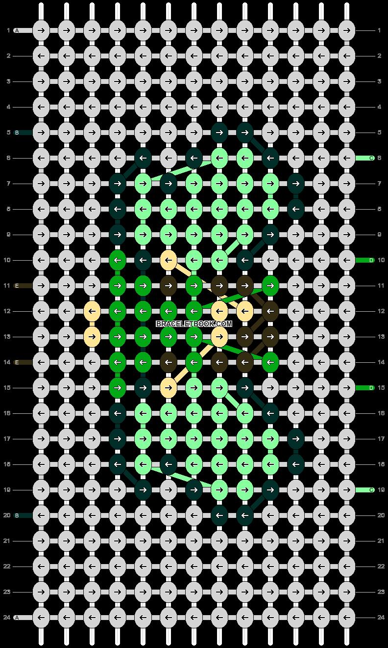 Alpha pattern #21216 pattern