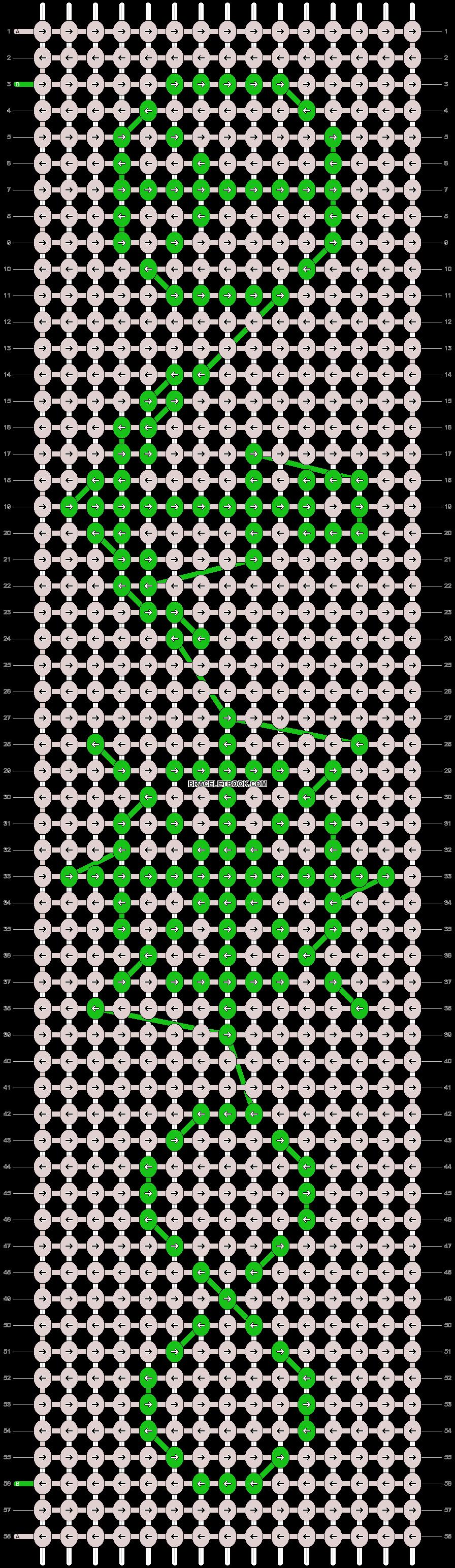 Alpha pattern #21223 pattern