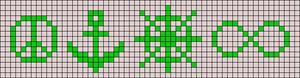 Alpha pattern #21223