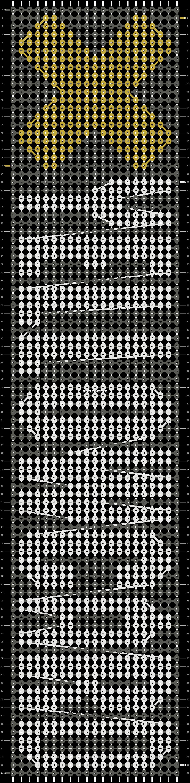 Alpha pattern #21224 pattern