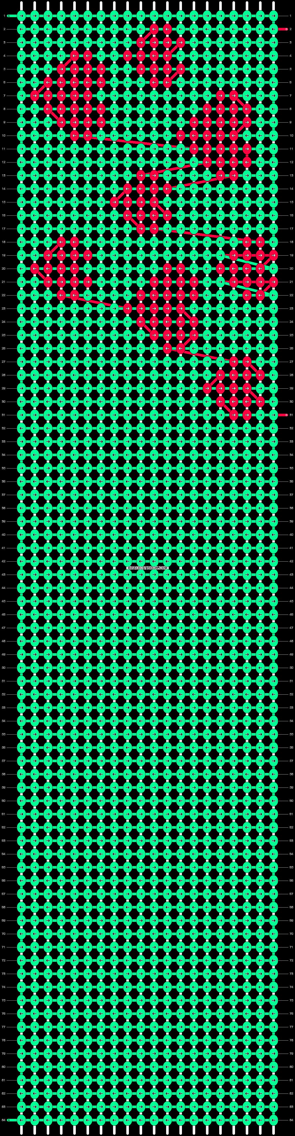 Alpha pattern #21228 pattern