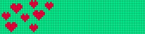 Alpha Friendship Bracelet Pattern #21228