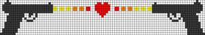 Alpha Friendship Bracelet Pattern #21231