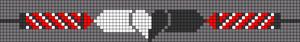 Alpha Friendship Bracelet Pattern #21232
