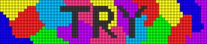 Alpha Friendship Bracelet Pattern #21242