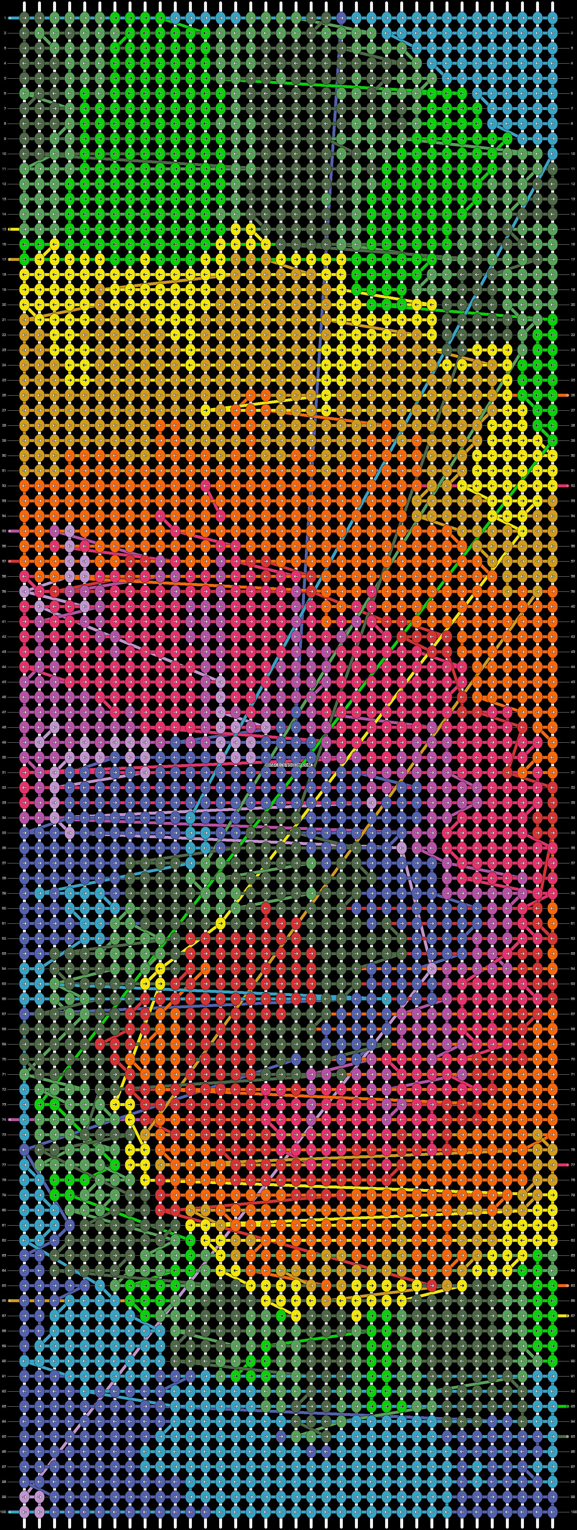 Alpha pattern #21243 pattern