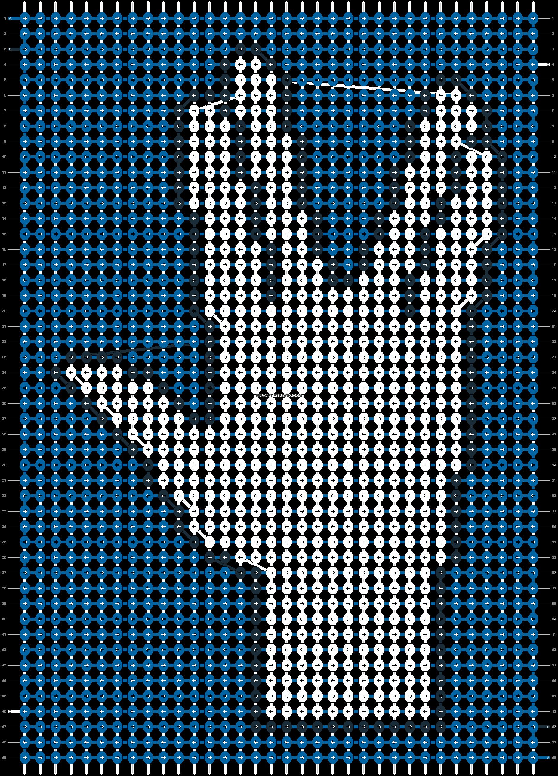 Alpha pattern #21246 pattern
