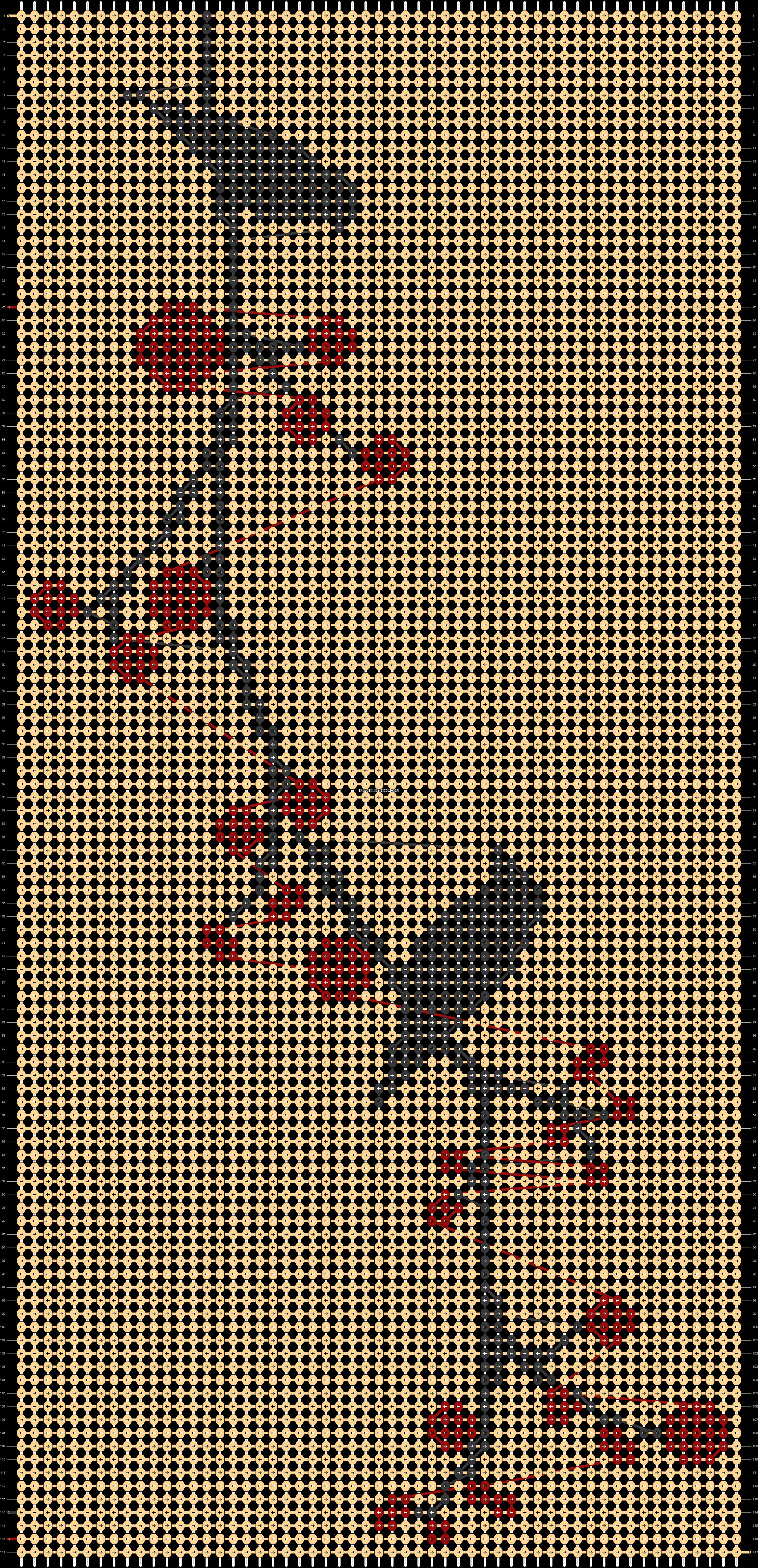 Alpha pattern #21248 pattern