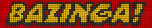 Alpha Friendship Bracelet Pattern #21249