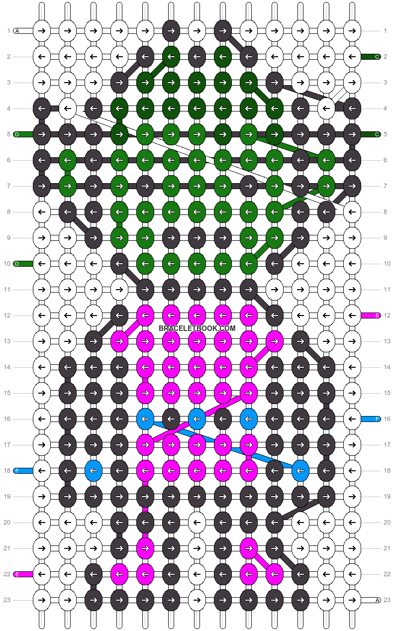 Alpha pattern #21252 pattern