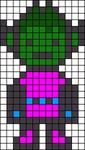 Alpha Friendship Bracelet Pattern #21252