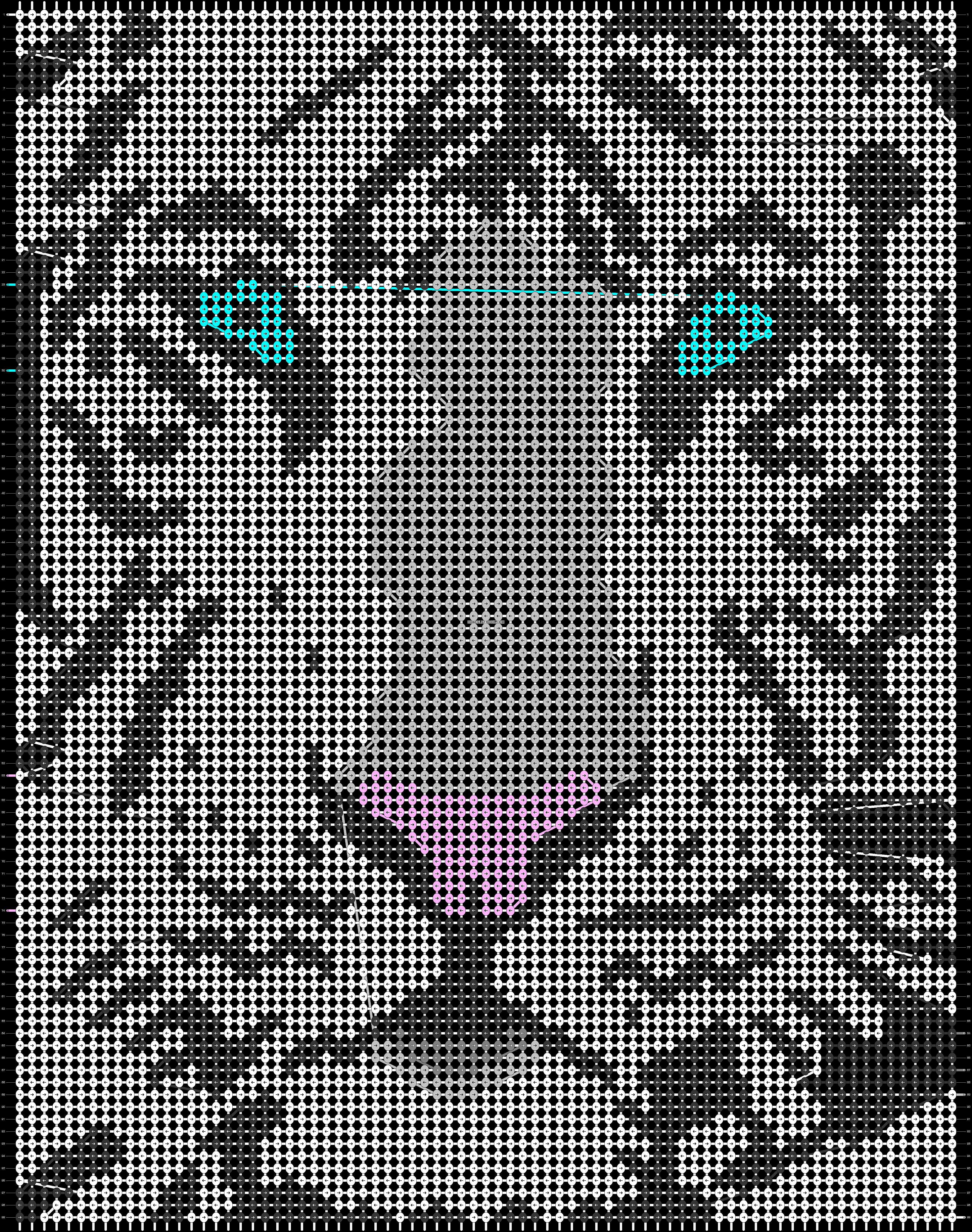 Alpha pattern #21261 pattern
