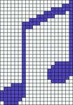 Alpha Friendship Bracelet Pattern #21293