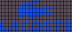 Alpha Friendship Bracelet Pattern #21297
