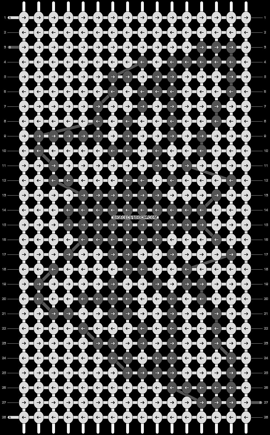 Alpha pattern #21298 pattern
