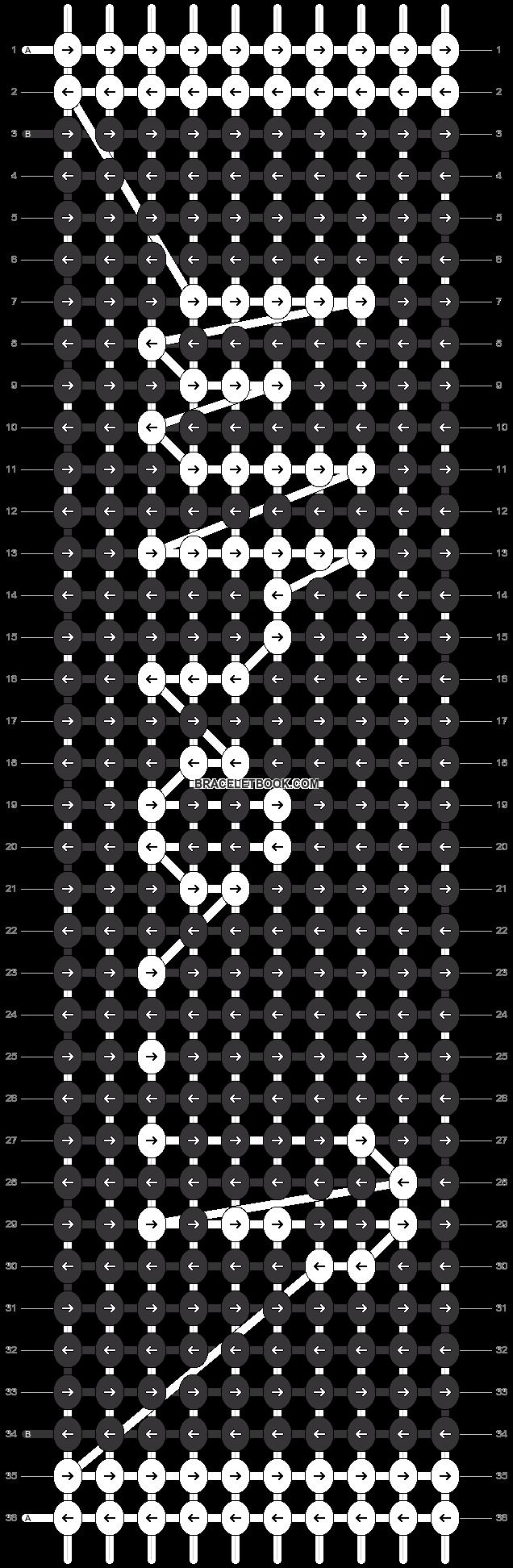 Alpha pattern #21300 pattern