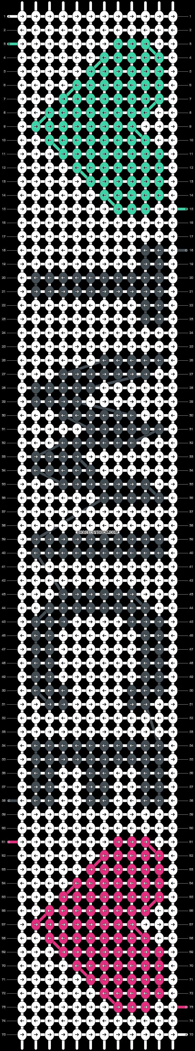 Alpha pattern #21302 pattern