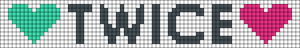 Alpha pattern #21302