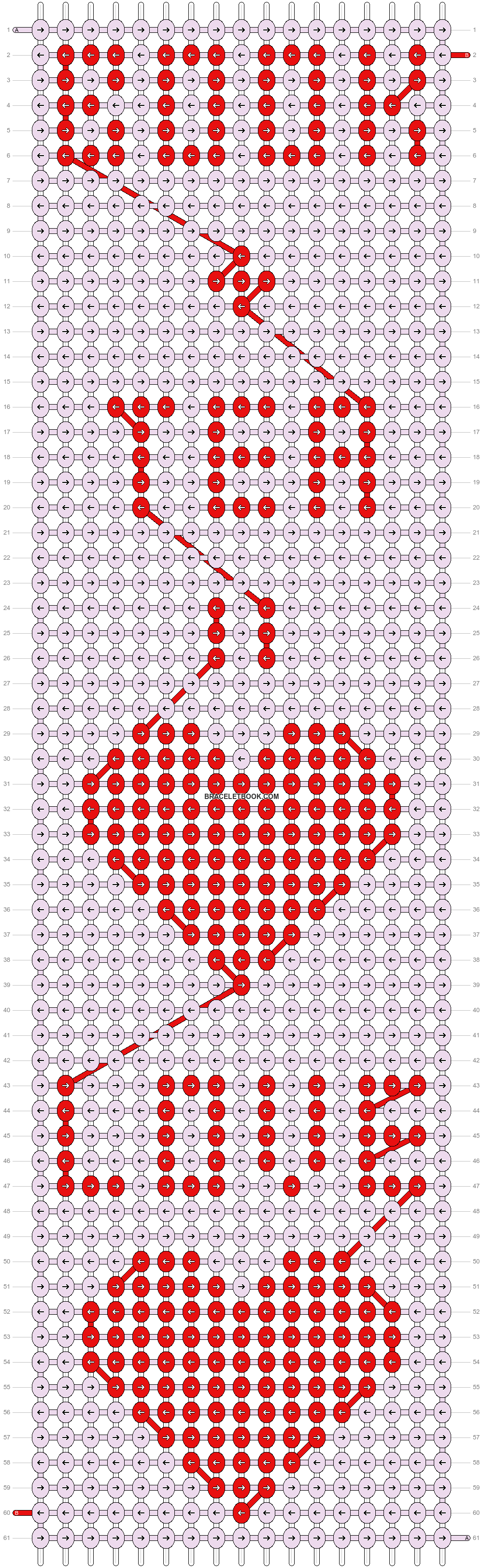 Alpha pattern #21303 pattern