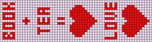 Alpha Friendship Bracelet Pattern #21303