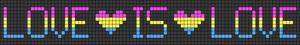 Alpha Friendship Bracelet Pattern #21308