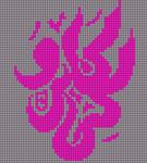 Alpha Friendship Bracelet Pattern #21316