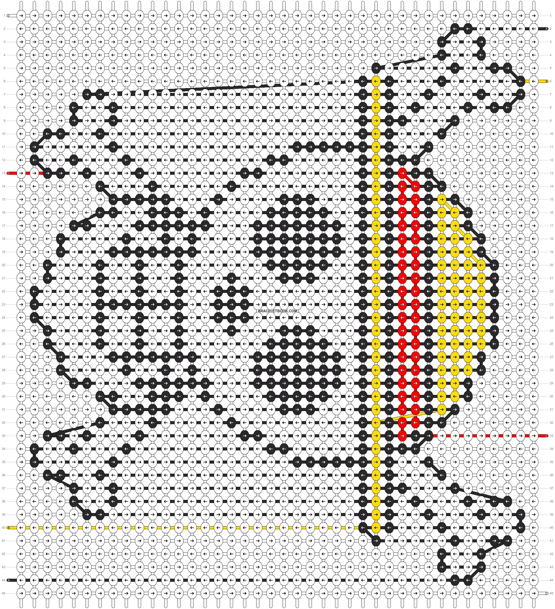 Alpha pattern #21321 pattern