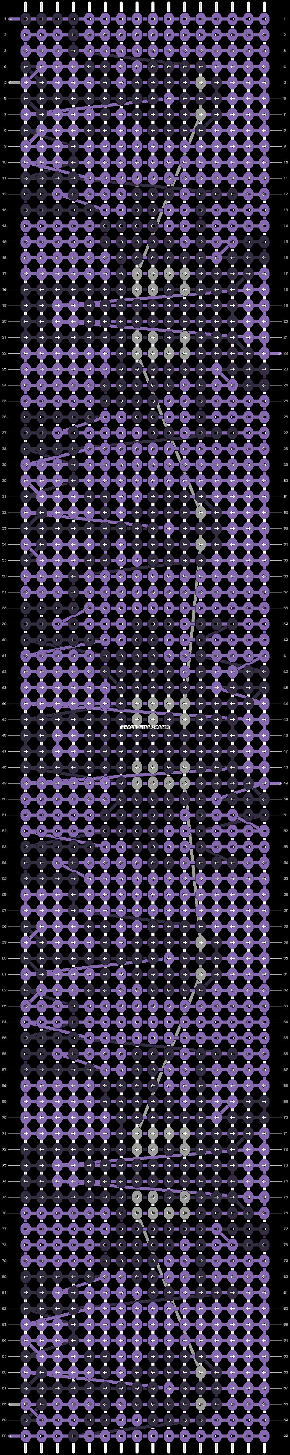 Alpha pattern #21325 pattern