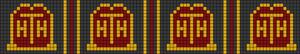 Alpha Friendship Bracelet Pattern #21329