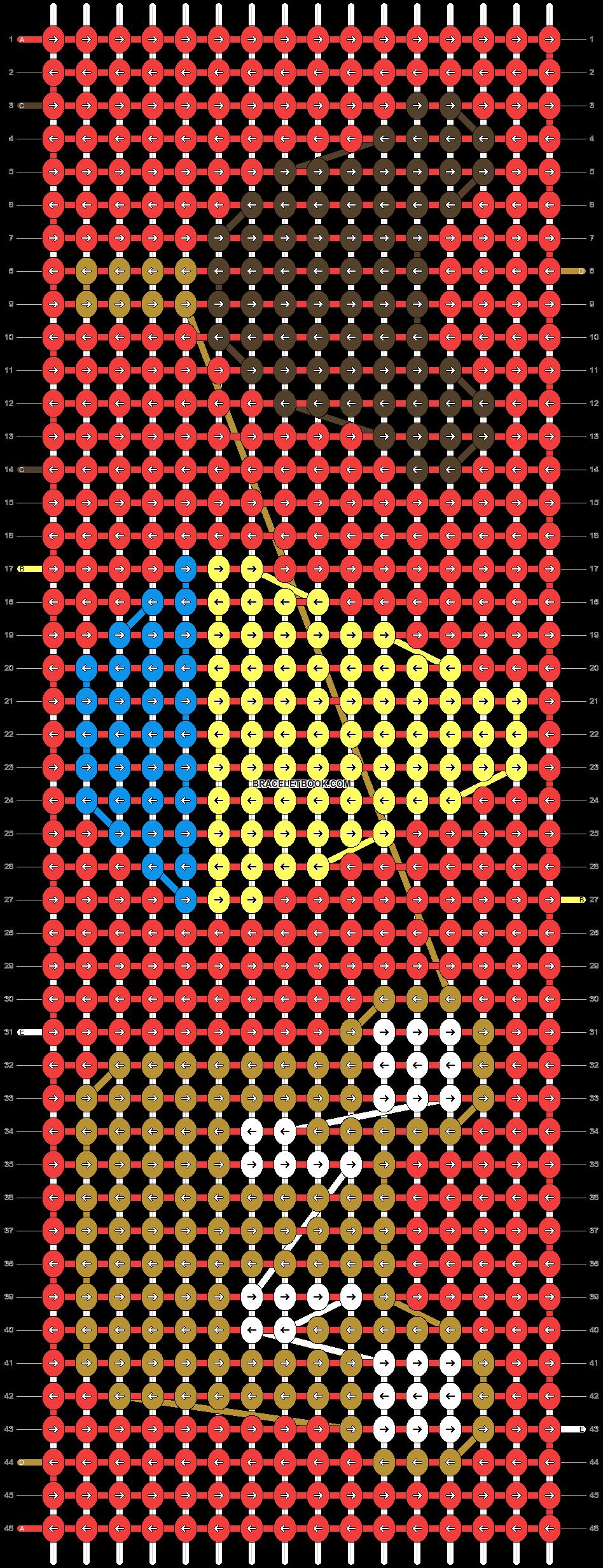 Alpha pattern #21330 pattern