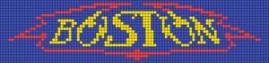 Alpha Friendship Bracelet Pattern #21346