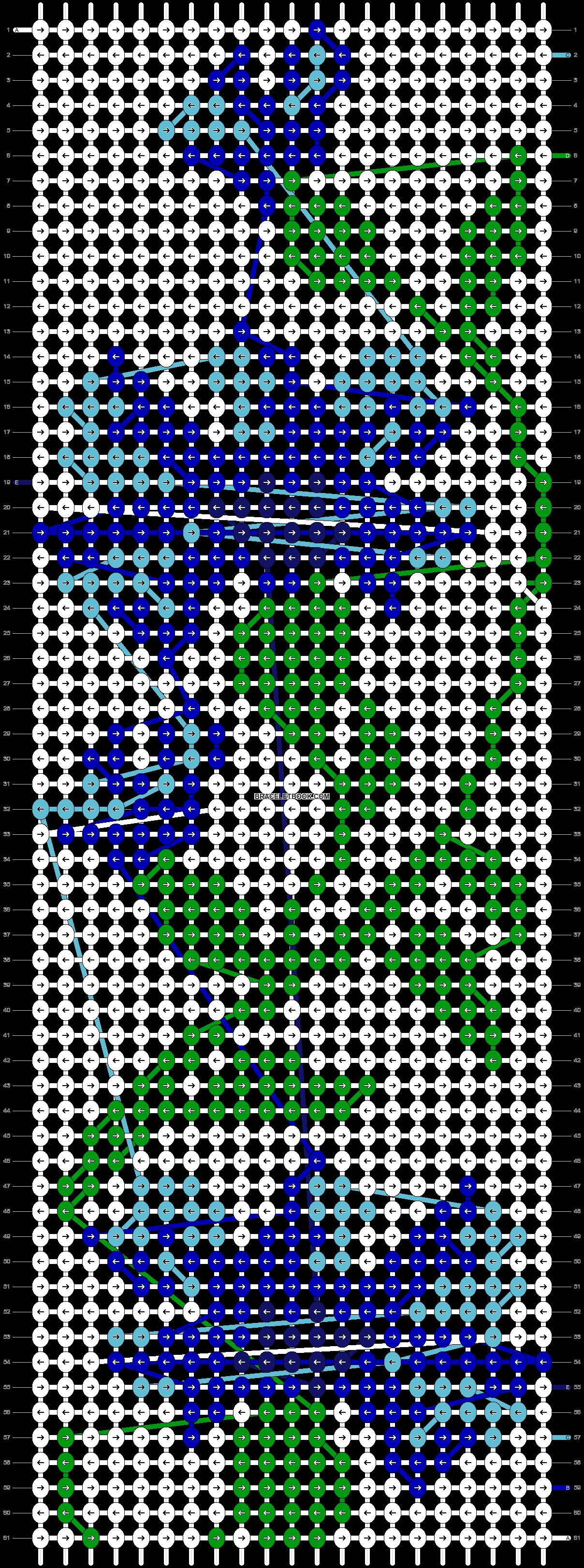 Alpha pattern #21347 pattern
