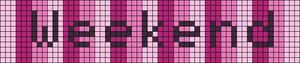 Alpha Friendship Bracelet Pattern #21361
