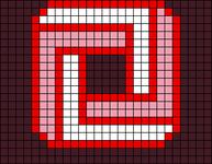 Alpha pattern #21365